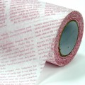 Non Woven Roll - Newsprint.  Color: #173-2 - Red